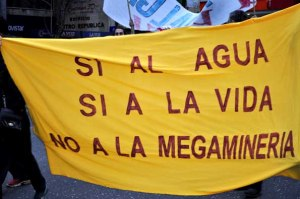 No a la megamineria